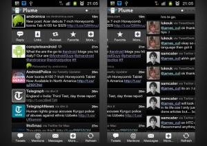نرم افزار Plume for Twitter 4.51 نرم افزار سفارش سازی