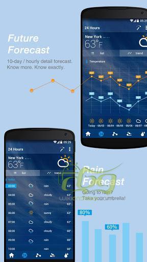 Screenshots of GO Weather Forecast & Widgets 4 (1)