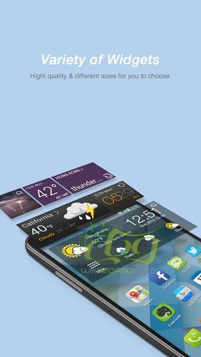 Screenshots of GO Weather Forecast & Widgets 4 (3)