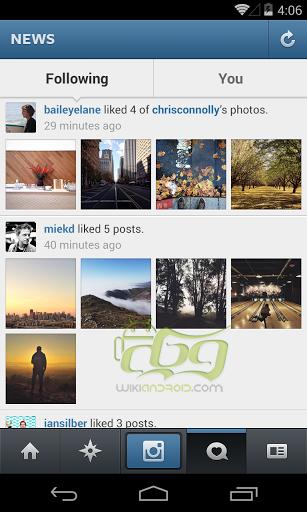 Screenshots of Instagram (3)