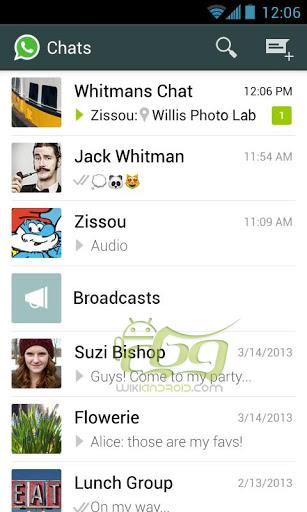 دانلود WhatsApp Messenger اخرین نسخه برنامه واتس اپ اندروید