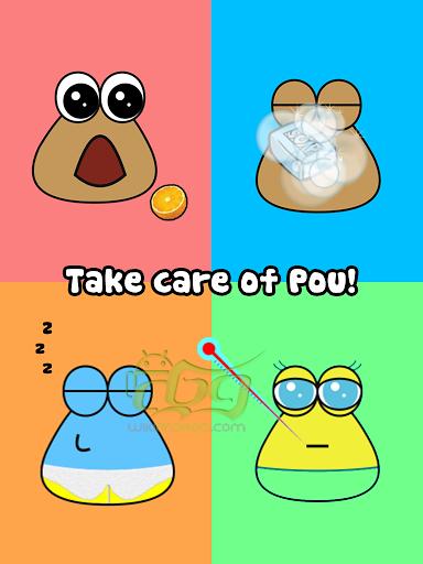 دانلود Pou اخرین نسخه بازی سرگرم کننده پو اندروید